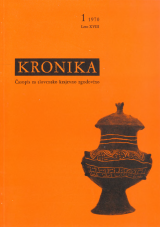 Kronika, 1970, št. 1