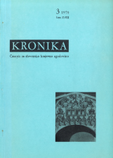 Kronika, 1970, št. 3