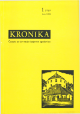 Kronika, 1969, št. 1