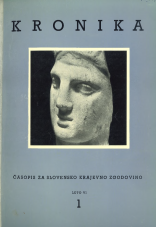 Kronika, 1958, št. 1<br />Kronika, 1958, No. 1