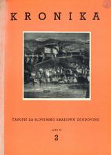 Kronika, 1958, št. 2<br />Kronika, 1958, No. 2