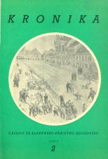 Kronika, 1957, št. 2<br />Kronika, 1957, No. 2