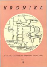 Kronika, 1957, št. 3<br />Kronika, 1957, No. 3