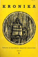 Kronika, 1956, št. 1<br />Kronika, 1956, No. 1