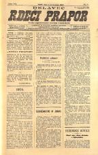 Delavec - Rdeči prapor<br />Glasilo jugoslovanske socijalne demokracije