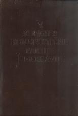 V. kongres komunistične partije Jugoslavije<br />Beograd, od 21. do 28 jul. 1948