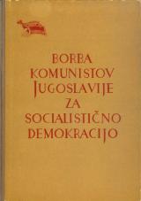 Borba komunistov Jugoslavije za socialistično demokracijo<br />VI. kongres Komunistične partije Jugoslavije (Zveze komunistov Jugoslavije), Zagreb, od 2. do 7. novembra 1952