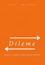 Dileme: Razprave o vprašanjih sodobne slovenske zgodovine, letnik 1/2017, št. 1-2