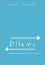 Dileme: razprave o vprašanjih sodobne slovenske zgodovine; letnik 3/2019, št. 2