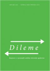 Dileme: razprave o vprašanjih sodobne slovenske zgodovine; letnik 4/2020, št. 1-2