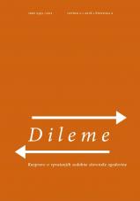 Dileme: razprave o vprašanjih sodobne slovenske zgodovine;  letnik 2/2018, št. 2