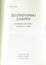 Zgodovinski časopis, 1956-1957