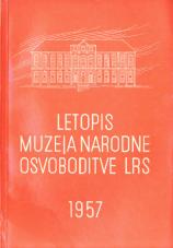 Letopis muzeja narodne osvoboditve LRS, 1957