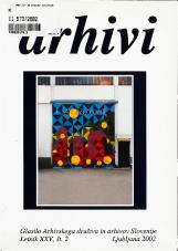 Arhivi, 2002, št. 2<br />Glasilo Arhivskega društva in arhivov Slovenije
