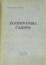 Zgodovinski časopis, 1964