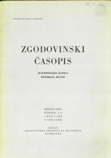 Zgodovinski časopis, 1968, št. 1-2<br />Zgodovinski časopis, 1968, no. 1-2