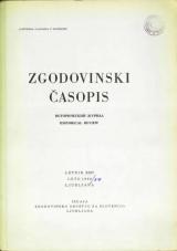 Zgodovinski časopis, 1968, št. 3-4<br />Zgodovinski časopis, 1968, no. 3-4