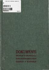 Dokumenti organov in organizacij narodnoosvobodilnega gibanja v Sloveniji<br />Knjiga 8<br />julij 1943
