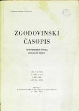Zgodovinski časopis, 1969, št. 3-4<br />Zgodovinski časopis, 1969, no. 3-4