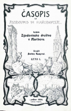 Časopis za zgodovino in narodopisje, 1904