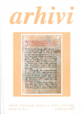 Arhivi, 2007, št. 2<br />Glasilo Arhivskega društva in arhivov Slovenije