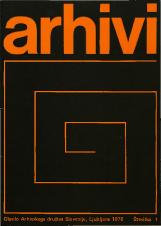 Arhivi, 1978, št. 1<br />Glasilo Arhivskega društva Slovenije
