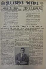 Službene novine Kraljevine Jugoslavije, ratno izdanje, 1942, br. 04