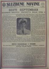 Službene novine Kraljevine Jugoslavije, ratno izdanje, 1942, br. 09