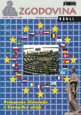Zgodovina v šoli, 2004, št. 3-4<br />Vstopanje Slovenije v Evropsko unijo