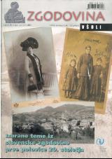 Zgodovina v šoli, 2005, št. 1-2<br />Izbrane teme iz slovenske zgodovine prve polovice 20. stoletja