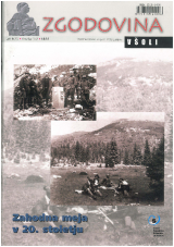 Zgodovina v šoli, 2006, št. 1-2<br />Zahodna meja v 20. stoletju