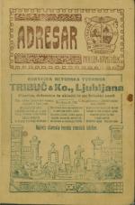 Adresar<br />Splošna naslovna knjiga za Kranjsko