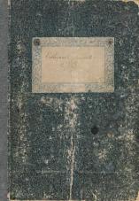 Slavjanska čitalnica v Trstu<br />Odborovih pomenkov knjiga<br />17. december 1865 – 19. marec 1876