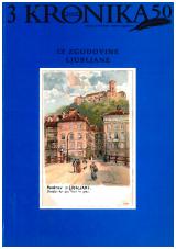 Kronika, 2002, št. 3<br />Iz zgodovine Ljubljane<br />Kronika, 2002, no. 3