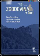 Zgodovina v šoli, 2009, št. 1-2<br />Novejše raziskave zgodovine srednjega veka na Slovenskem