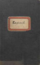 Jadranska banka v Trstu<br />Zapisnik sej upravnega sveta:  29.oktober 1905 – 1. december 1912