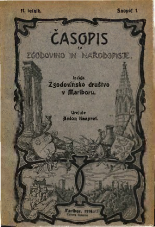 Časopis za zgodovino in narodopisje, 1914, št. 1