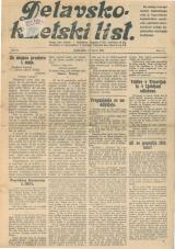 Delavsko - kmetski list št. 11