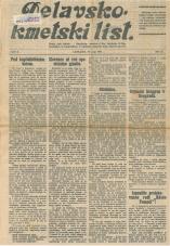 Delavsko - kmetski list št. 21