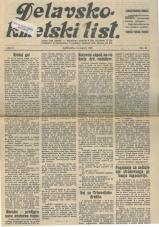 Delavsko - kmetski list št. 28